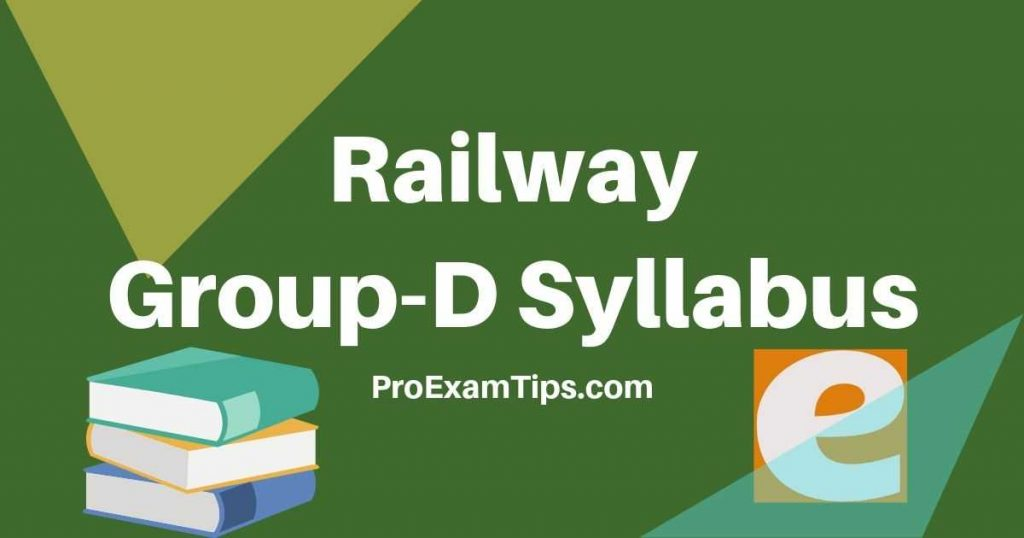 Indian Railway group D Syllabus