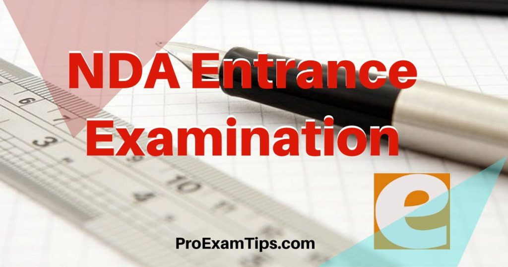 NDA Entrance Examination Guide