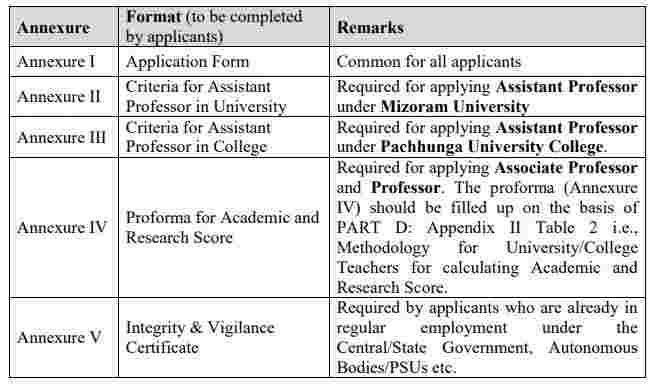 Mizoram University Professor Recruitment