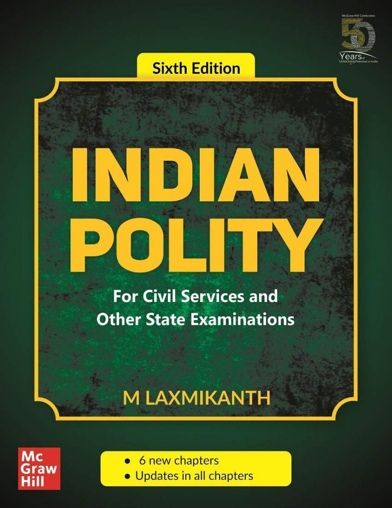 Indian Polity by Laxmikant 6th edition PDF