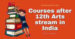 Courses after 12th Arts stream in India